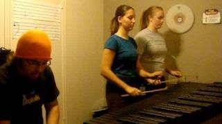 DragonForce- Through the Fire and Flames (Marimba)