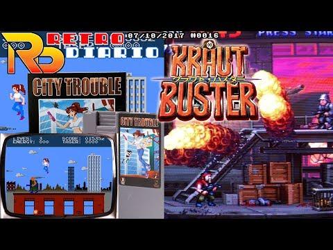RetroDiario Noticias Retro (07/10/2017) #0016 - Kraut Buster NeoGeo, City Trouble NES y MUCHO más