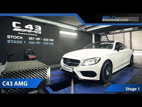 Mercedes C43 AMG Stage 1 By BR-Performance