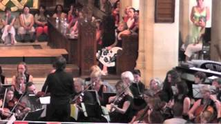 1812 Overture with paper bag cannons - Out There Orchestra July 2013