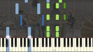 How to play CSNY - Our House Piano Tutorial Synthesia