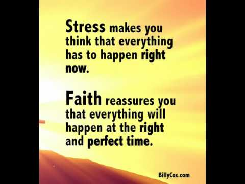 Faith Reassures You - Billy Cox