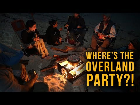 Where's the Overland Party? Overland Bound Rally Point.