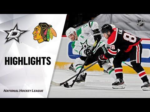Stars @ Blackhawks 4/8/21 | NHL Highlights