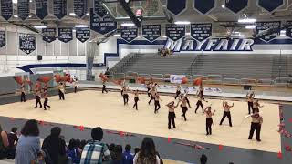 2018 The greatest Show by CalHigh Colorguard