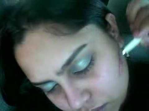 Face Paintin while sleepin