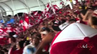 Esa es la banda puta del sin banderas - Barón Rojo Sur - L.H.D.L.C - América vs Cali 2012