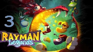 Rayman Legends Part 03 Meine Brüste!! und Ente mit wehenden Haaren