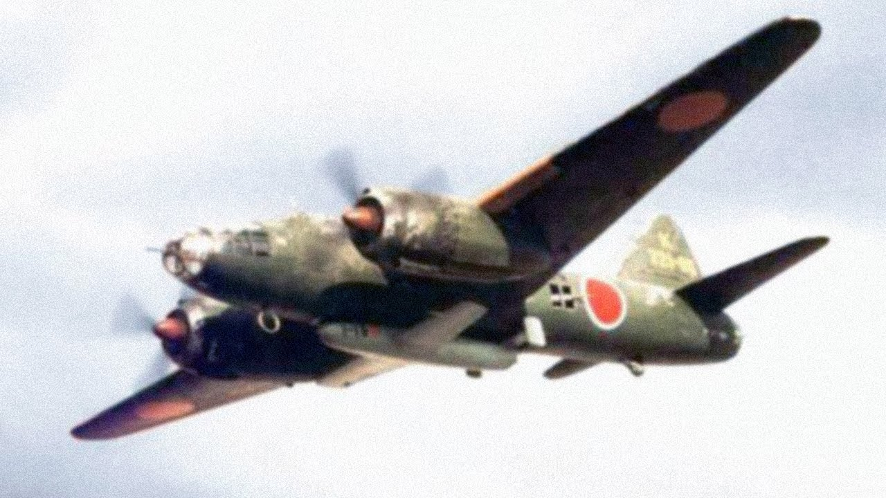 The First Airplane to Sink a Capital Ship - Mitsubishi's WW2 G4M Betty Bomber