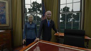 Microsoft Flight Simulator Add-On Replaces Trump with Biden