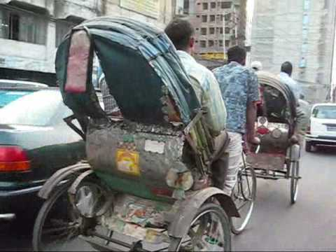 Driving in Dhaka