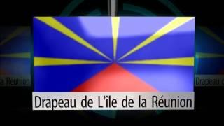 Drapeau Officiel de l'île de La Réunion -LaReunionTV-