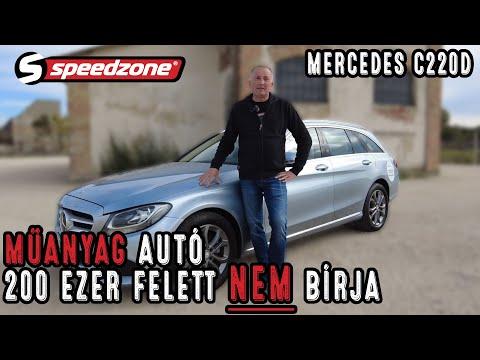 Speedzone használtteszt: Mercedes C220D: Műanyag autó 200 ezer felett nem bírja