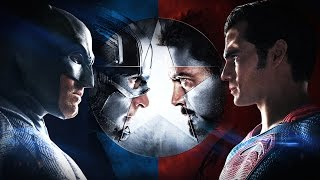 Batman v Superman v Iron Man v Captain America: Dawn of Civil War [Official Trailer]
