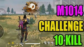 M1014 only Challenge   Free fire tricks and tips   Free fire booyah tricks   Run gaming