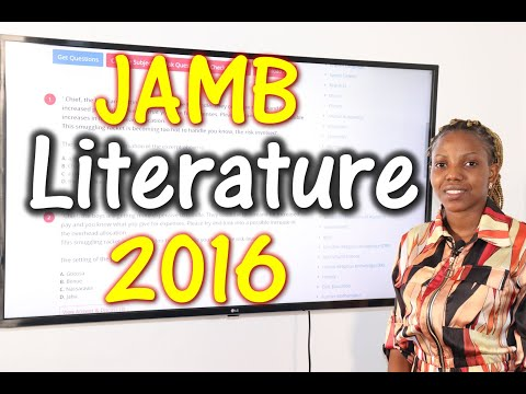 JAMB CBT Literature in English 2016 Past Questions 1 - 20