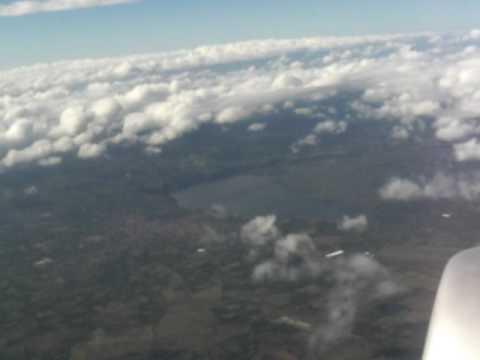 Take off. MGA Nicaragua. TACA Embraer 190 flight LR678
