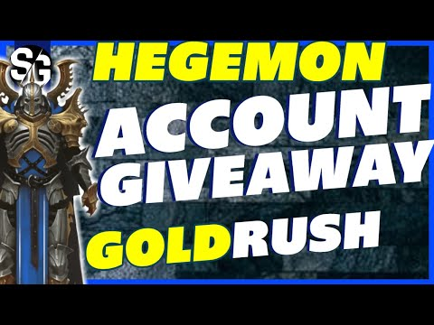 RAID SHADOW LEGENDS | HEGEMON ACCOUNT GIVEAWAY w/ HELLHADES