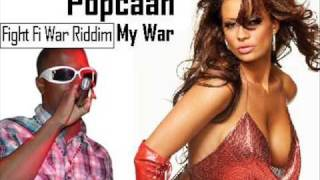 Popcaan - My War - Fight Fi War Riddim