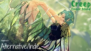 Nightcore → Creep (Ember Island/Lyrics)