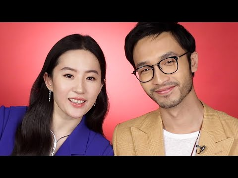 """""""Mulan"""" Stars Liu Yifei and Yosan An Find Out Which Disney Princess Combos They Are"""