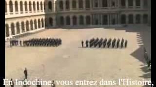 Chant Militaire - Promotion Colonel Delcourt aux Invalides [paroles]