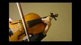The Last of the Mohicans - Violin