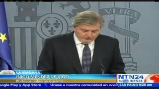 """España ve bombardeo de EE. UU a Siria como una """"respuesta medida y proporcionada"""""""