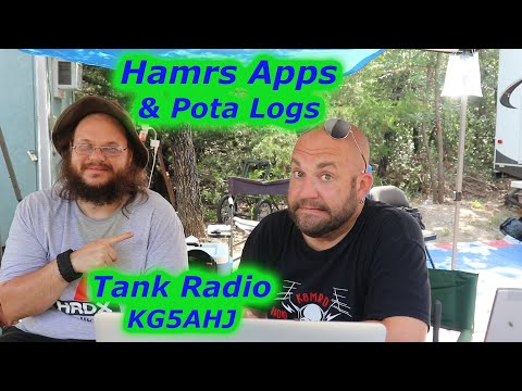 K8MRD show me HAMRS and how to export logs to POTA