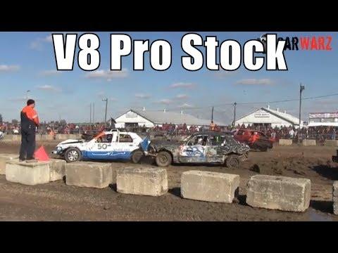 V8 Pro Stock Class At Brigden Fair Demolition Derby 2018 Camera 2