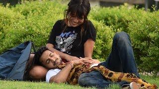 Sleeping On Girls Prank | by Vinay Thakur width=