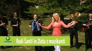 Rudi Šantl in Zlata z muzikanti - Abrahamka (uradna verzija) - Official video