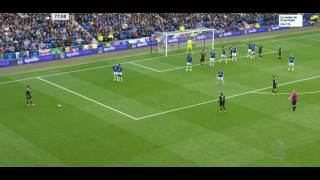 Gol de Cahill Everton-Chelsea 0-2 -Premier league HD