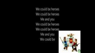 Alesseo ft. Tove Lo - Heroes (we could be) Chipmunk versie - Lyrics