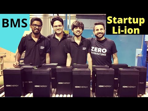 Lithium-ion Battery Manufacturing Startup India - Ion Energy