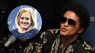 Bruno Mars Reveals He & Adele Butted Heads Over WHAT Lyric?