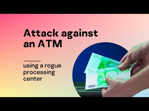 Attack against an ATM using a rogue processing center