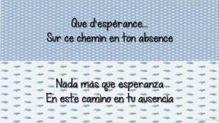 Indila  -  Dernière Danse CON LETRA Español/Frances