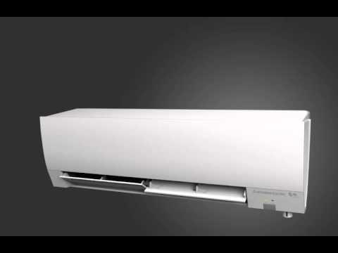 Doble luftspjeld på varmepumpe - Kirigamine Hara