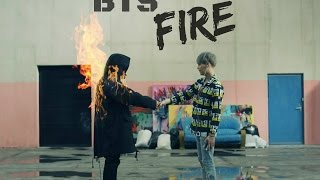 BTS- Fire. Letra fácil (pronunciación).