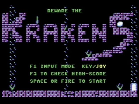 RETROJuegos Homebrew ... Krakens © 2020. De Cdr64 para Commodore 64 - Review por Fabio Didone