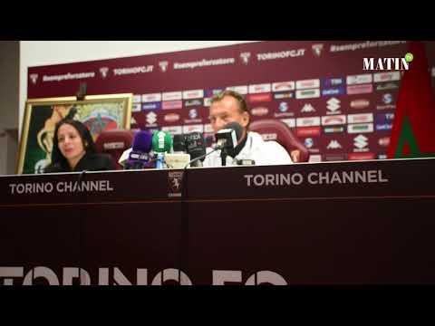 Hervé Renard et Abderrazak Hifti parlent du match contre la Serbie