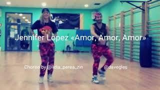 Jennifer López ft wisin - Amor, Amor, Amor Zumba Fitness choreo