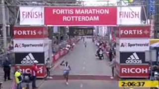Jac Blom - Marathon Rotterdam 2006