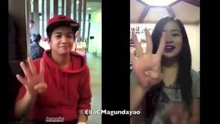 Francis Magundayao & Ella Cruz do the -Gwiyomi- (ORIGINAL VIDEO)