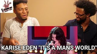 The Voice Australia: Karise Eden sings It's A Man's World (REACTION)
