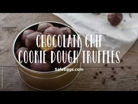 Chocolate Chip Cookie Dough Truffles Recipe | Davidson's™ Eggs