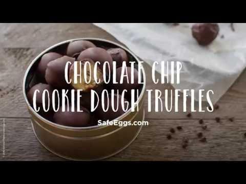 Chocolate Chip Cookie Dough Truffles Recipe | Davidson's™ Eggs