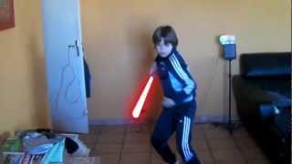 Sabre Laser Test