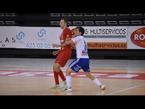 Futbol Emotion Zaragoza - Industrias Santa Coloma Jornada 2 Temp 20 21